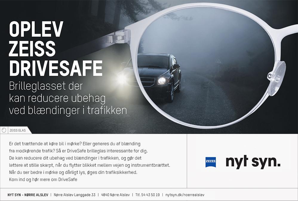 ef783f17ab6a ZEISS Drivesafe - trafikoptimerede brilleglas til hverdagsbrug - NYT ...