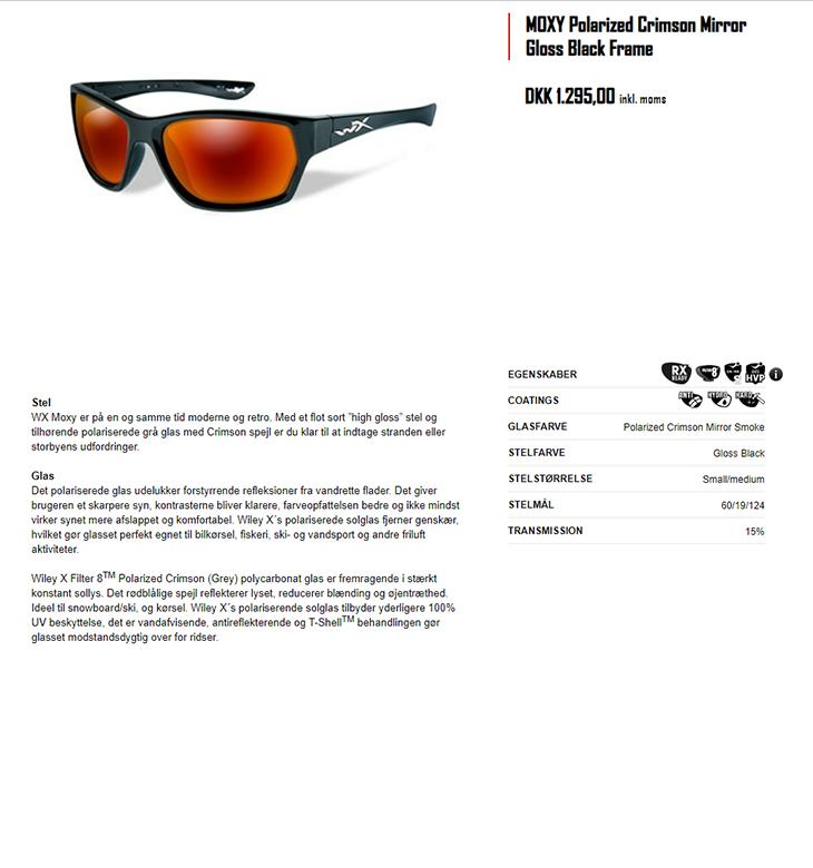 cf161c2b5a49 Wiley X den førende leverandør af sol- og sikkerhedsbriller - NYT ...